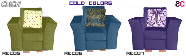 Recolor Cold color per divani e poltrone