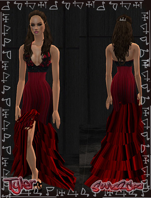 Red Witch dress